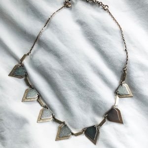 MADEWELL two toned necklace